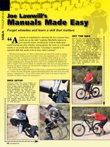 How to do a manual