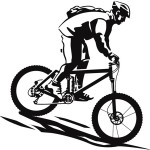 Mountain-Bike-rider